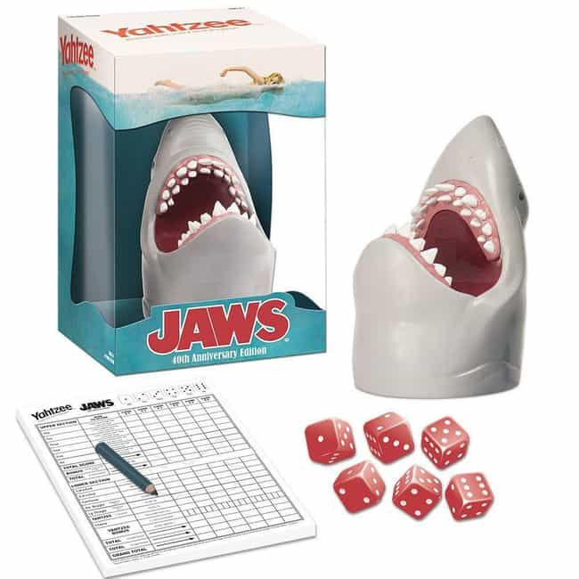 Jaws is listed (or ranked) 4 on the list The Best Editions of Yahtzee