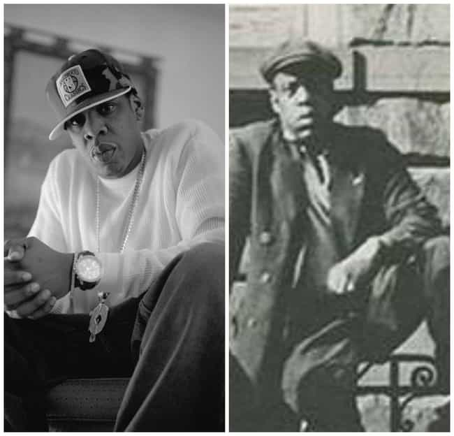 Jay-Z is listed (or ranked) 4 on the list 50 Celebrities Who Look Exactly Like People From History