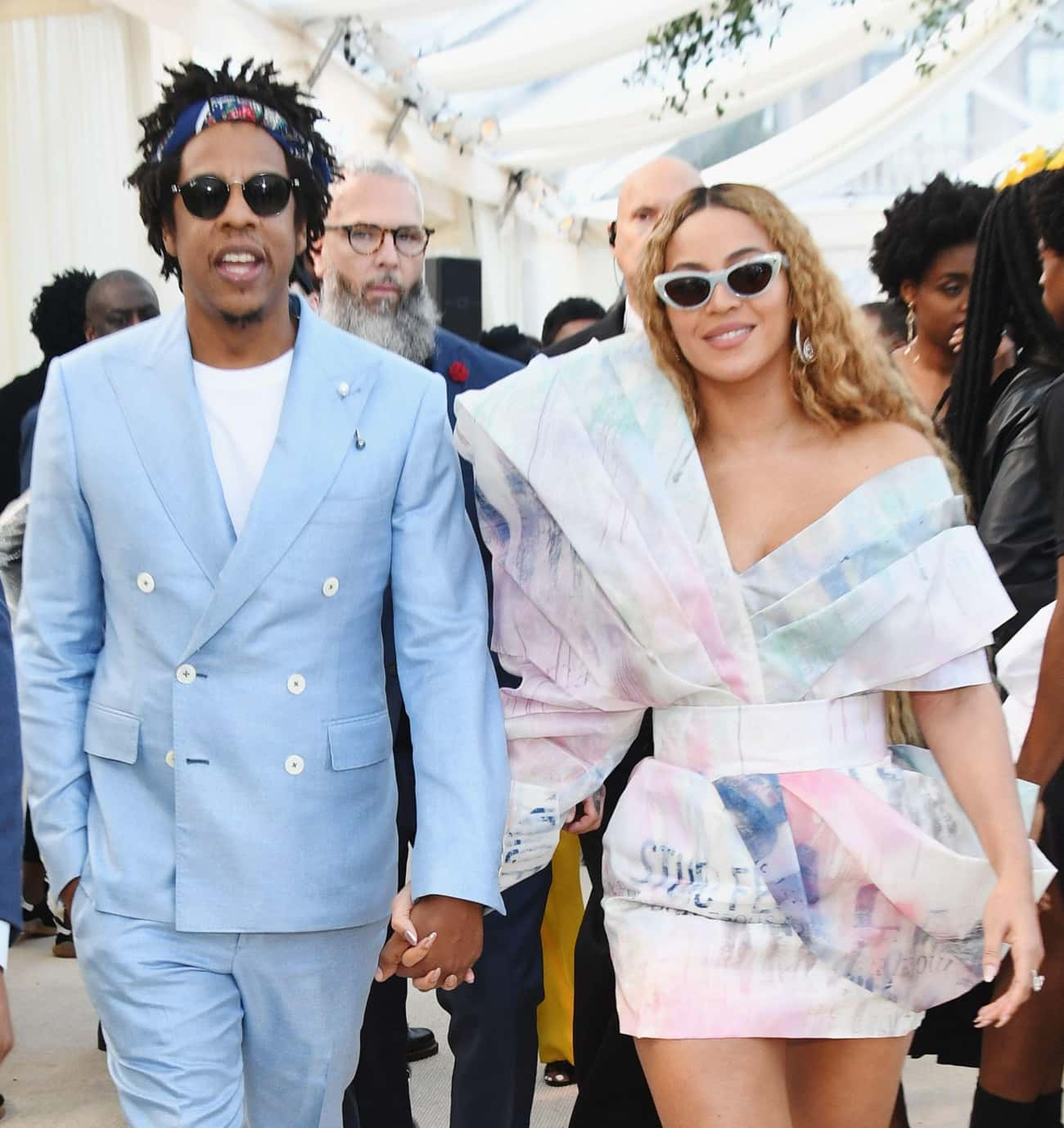 Jay-Z is listed (or ranked) 1 on the list All of Beyonce's Love and Hookups