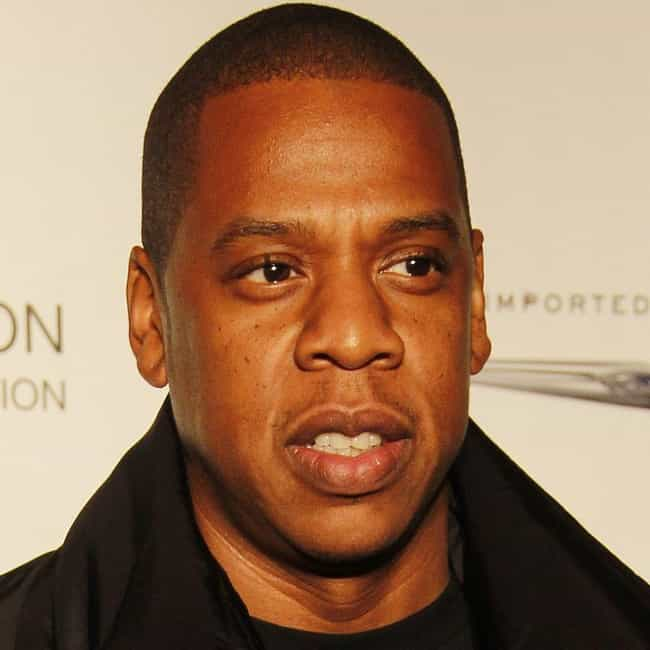 Jay-Z is listed (or ranked) 3 on the list Famous Male Rappers