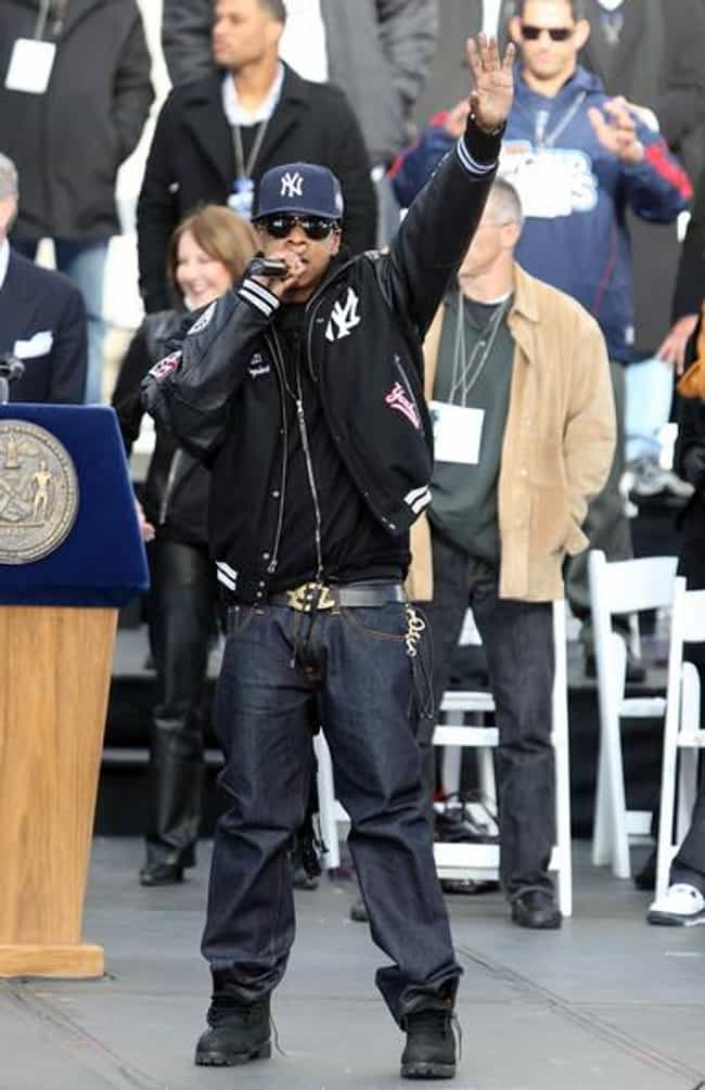 Jay-Z is listed (or ranked) 1 on the list Celebrity Yankee Fans
