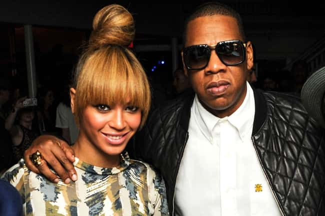 Jay-Z is listed (or ranked) 45 on the list 48 Famous Couples with Huge Age Differences