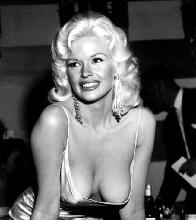 Jayne Mansfield is listed (or ranked) 4 on the list 17 Celebrities Charged with Indecent Exposure
