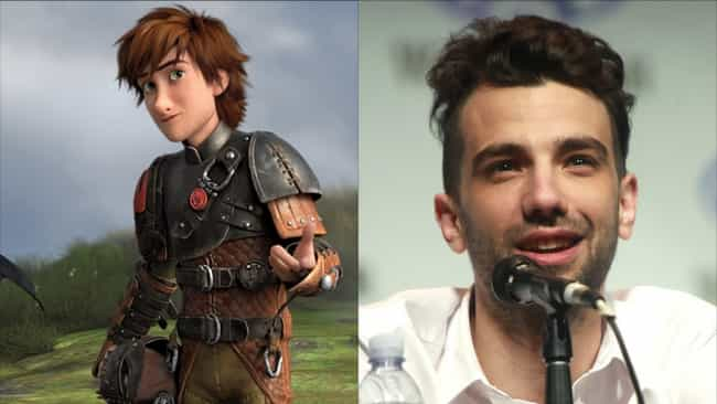 Jay Baruchel is listed (or ranked) 1 on the list Here's Where You've Heard Everyone In 'How To Train Your Dragon' Before