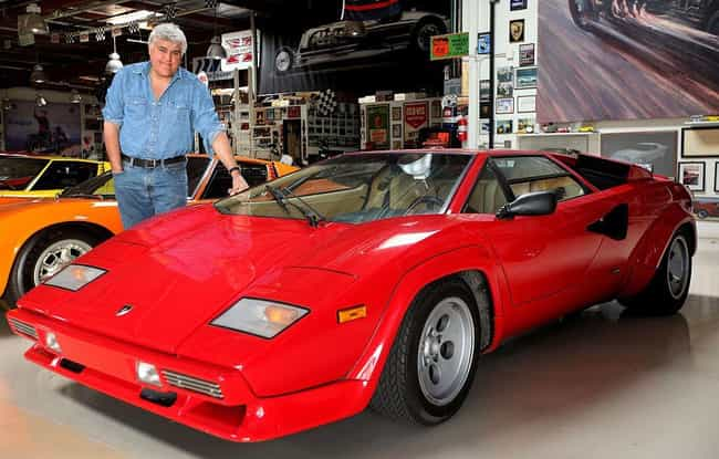 Jay Leno is listed (or ranked) 4 on the list 52 Famous People Who Own Lamborghinis