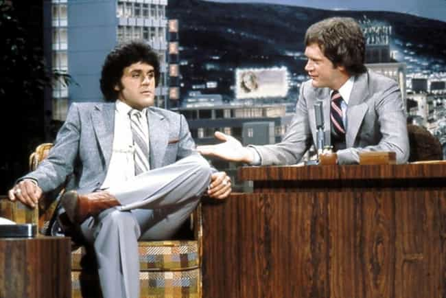 Jay Leno is listed (or ranked) 6 on the list Famous Friends of David Letterman