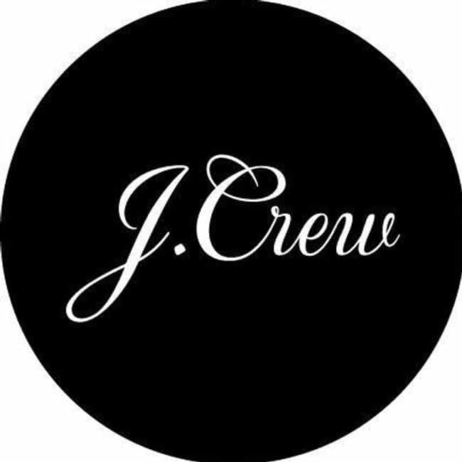 J.Crew is listed (or ranked) 2 on the list Retail Companies that Offer the Best Employee Discounts