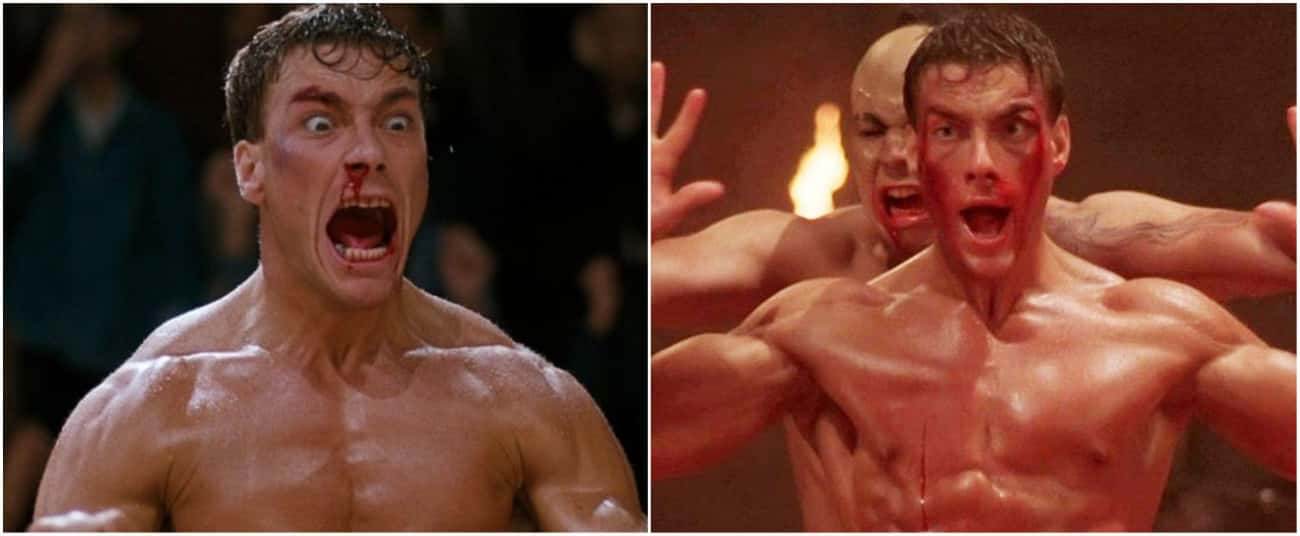 Jean-Claude Van Damme Plays A Martial Arts Expert Who Was Born In Belgium But Grew Up In The US In 'Bloodsport' And 'Kickboxer'