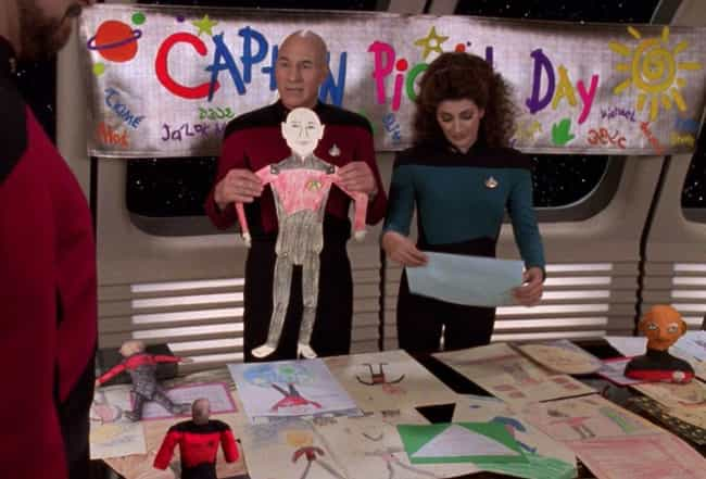 Jean-Luc Picard is listed (or ranked) 1 on the list Easter Eggs And References From 'Star Trek: Picard' That Are Futile To Resist