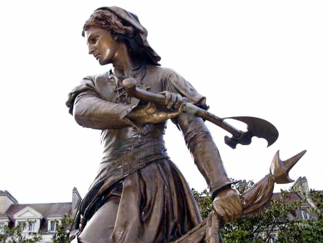 Jeanne Hachette is listed (or ranked) 4 on the list The Coolest Statues And Monuments Dedicated To Female Warriors