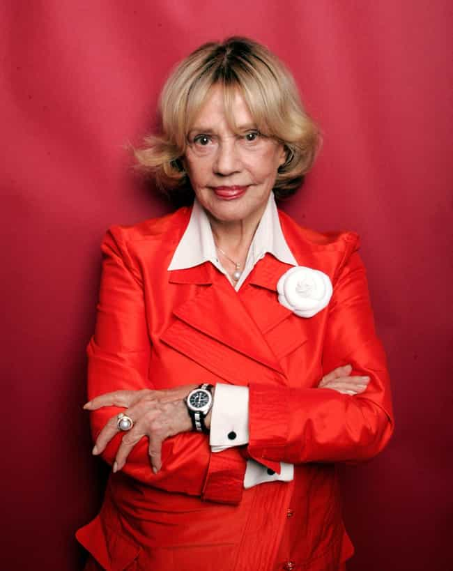 Jeanne Moreau is listed (or ranked) 4 on the list Women Who George Hamilton Has Dated