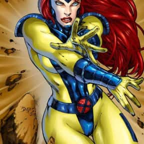 Jean Grey is listed (or ranked) 12 on the list The Best Comic Book Characters Created by Stan Lee
