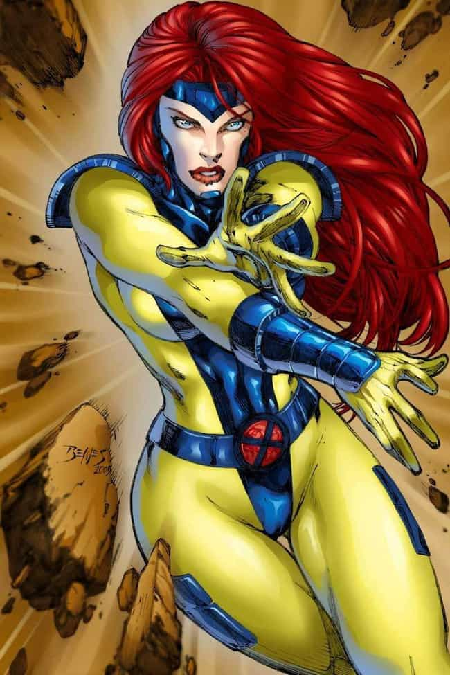 Jean Grey is listed (or ranked) 2 on the list The Best X-Men Characters of All Time