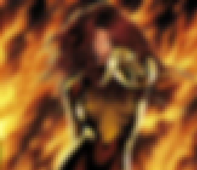 Jean Grey is listed (or ranked) 8 on the list 15 Comic Book Characters Who Achieved Godhood