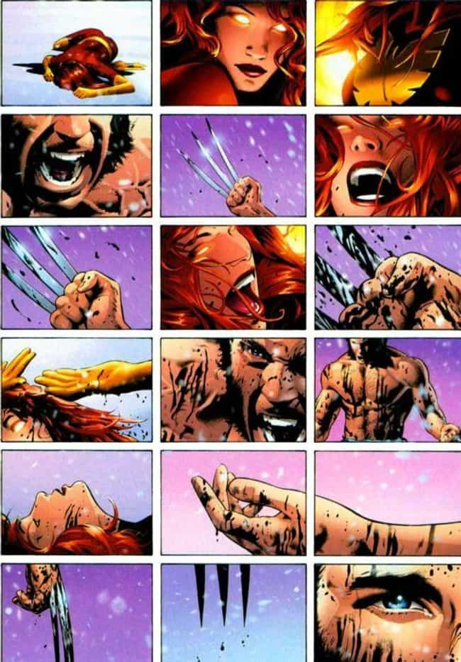 Jean Grey is listed (or ranked) 1 on the list The Shortest Deaths In Comic Book History