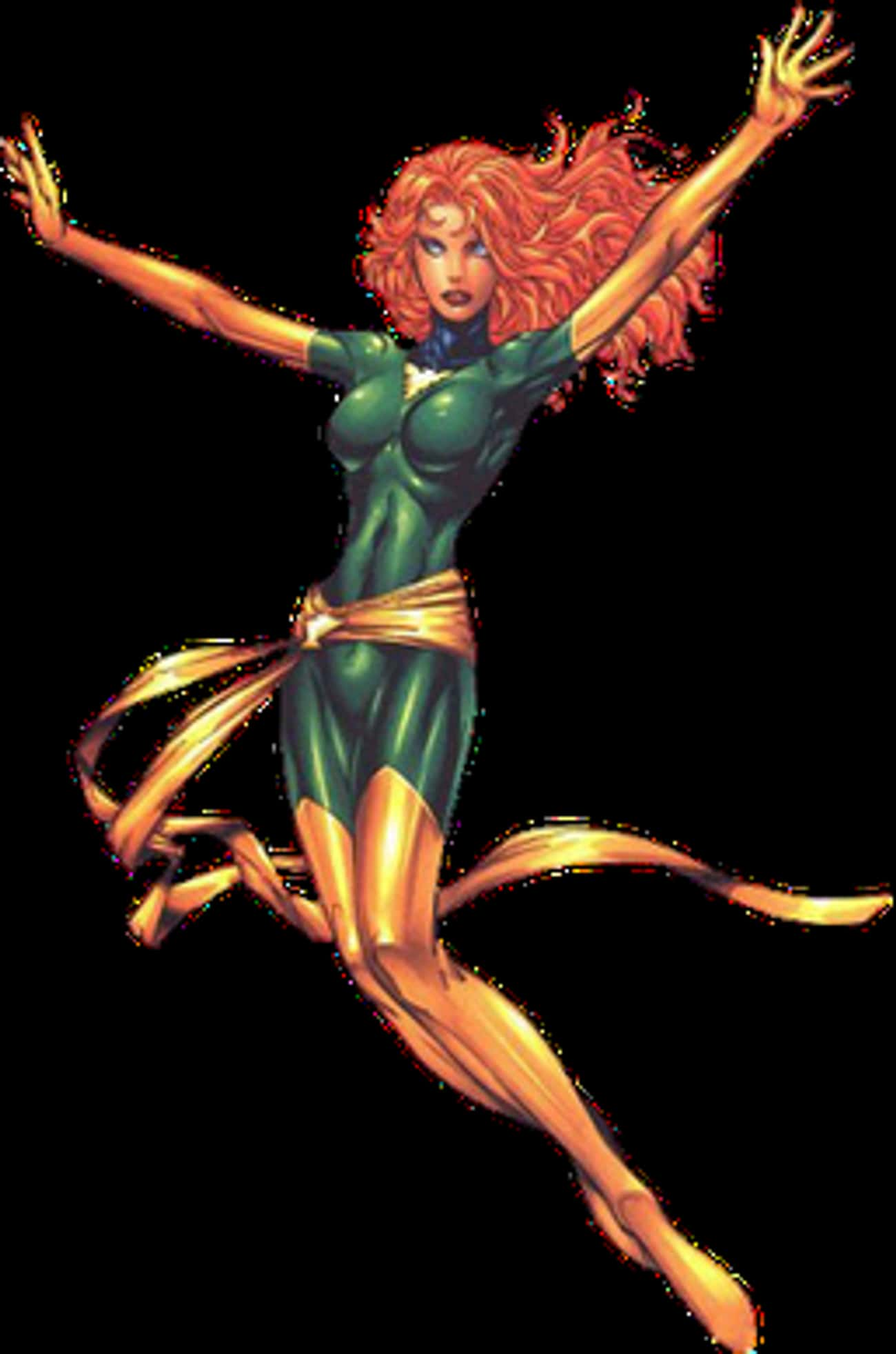 Jean Grey is listed (or ranked) 2 on the list Wolverine's Long List of Lovers