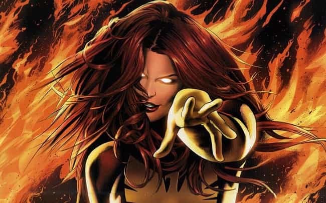 Jean Grey is listed (or ranked) 4 on the list Superheroes Who Should Probably Never Have Sex (And Why)