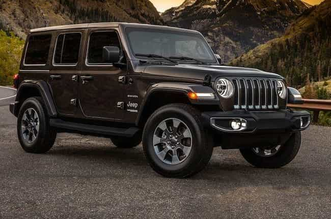 Jeep Wrangler is listed (or ranked) 2 on the list The Best SUVs of 2019