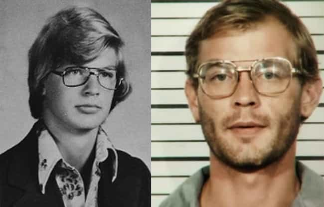 Jeffrey Dahmer is listed (or ranked) 1 on the list 12 Chilling Yearbook Pictures of Serial Killers and Notorious Murderers