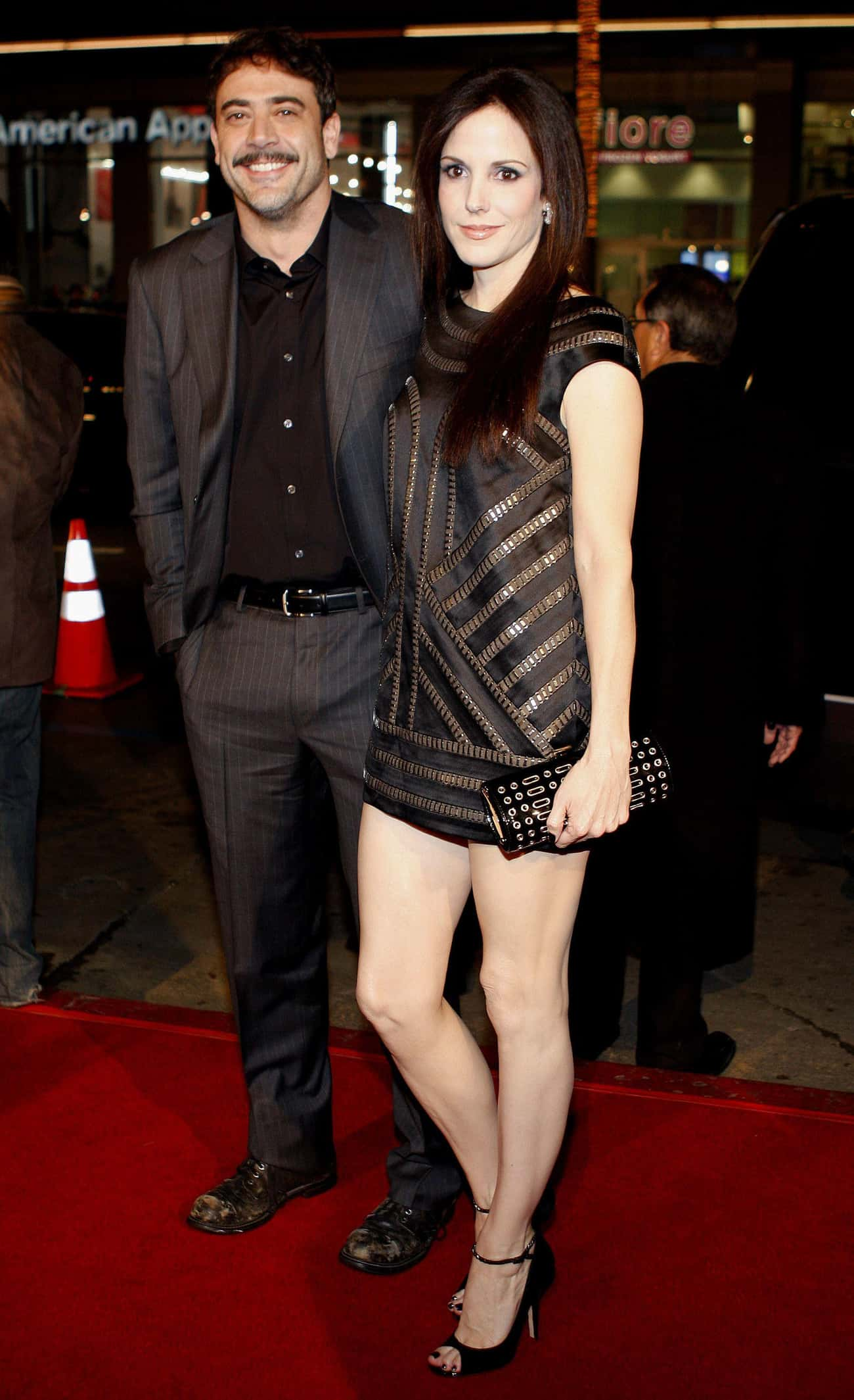 Jeffrey Dean Morgan is listed (or ranked) 2 on the list Men Who Mary-Louise Parker Has Dated