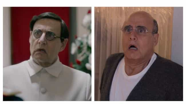 Jeffrey Tambor is listed (or ranked) 4 on the list Hairpieces On Iconically Bald Actors, Ranked By Degree Of Blasphemy