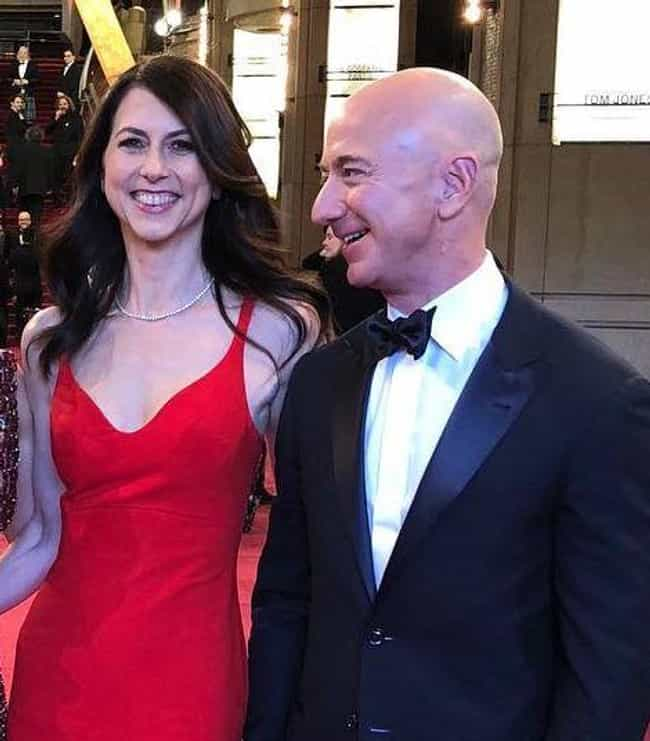 Jeff Bezos is listed (or ranked) 1 on the list Celebrity Couples Who Married Without Prenups
