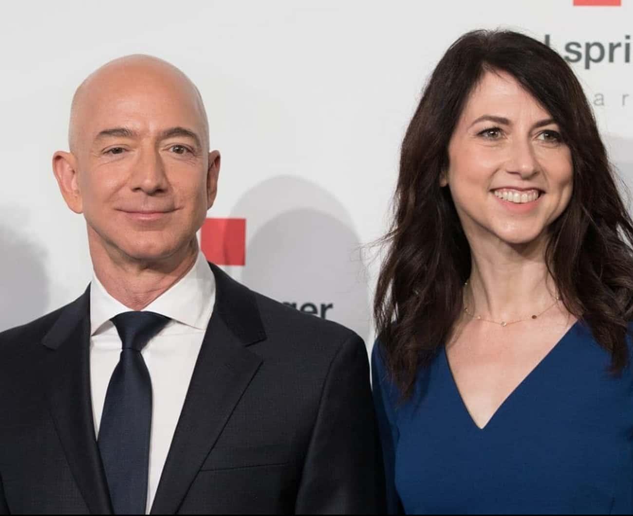Jeff Bezos & MacKenzie Bezos