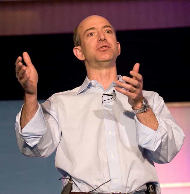 Jeff Bezos is listed (or ranked) 3 on the list 20 Celebrities Who Once Worked at McDonald's