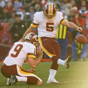 Jeff Chandler is listed (or ranked) 24 on the list The Best Washington Redskins Kickers Of All Time