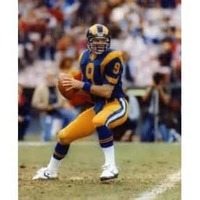 Jeff Kemp is listed (or ranked) 21 on the list The Best Los Angeles Rams Quarterbacks of All Time