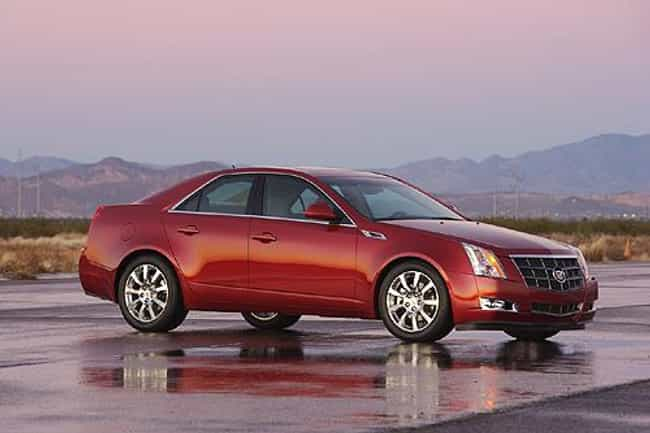2008 Cadillac CTS is listed (or ranked) 4 on the list The Best Cadillac CTSs of All Time