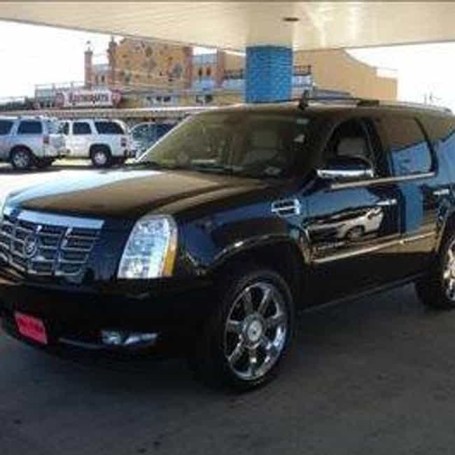 2007 Cadillac Escalade ... is listed (or ranked) 1 on the list The Best Cadillac Escalades of All Time