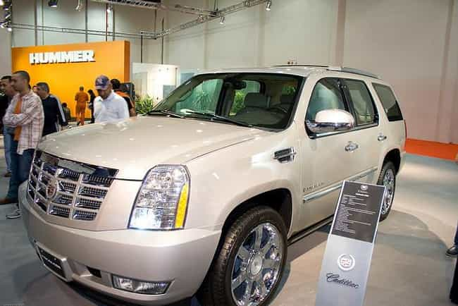 2009 Cadillac Escalade ... is listed (or ranked) 4 on the list The Best Cadillac Escalades of All Time