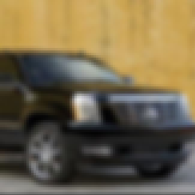 2008 Cadillac Escalade ESV is listed (or ranked) 4 on the list The Best Cadillac Escalades of All Time