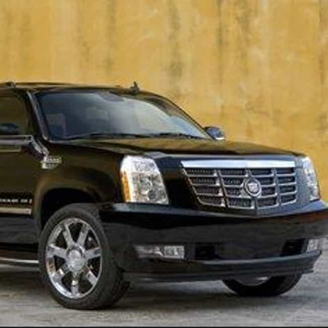2008 Cadillac Escalade E... is listed (or ranked) 3 on the list The Best Cadillac Escalades of All Time