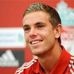 Jordan Henderson is listed (or ranked) 1 on the list Famous People Named Jordan