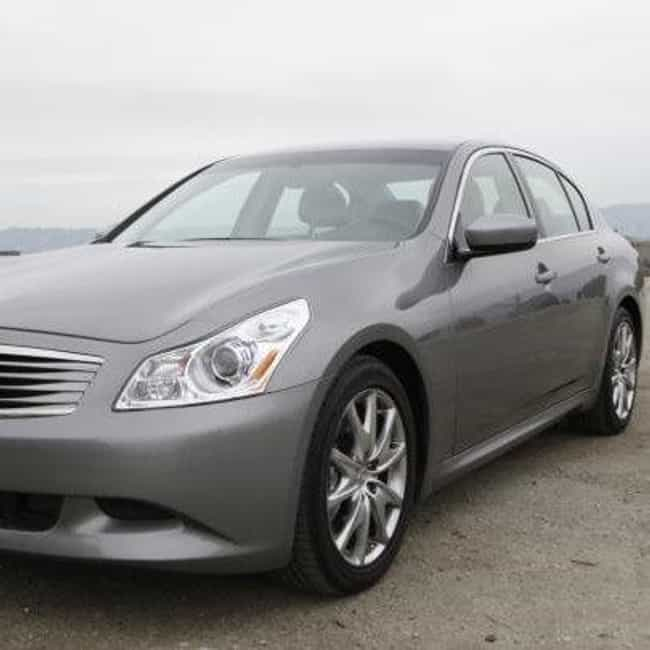 2009 Infiniti G37 Sedan ... is listed (or ranked) 6 on the list The Best Infiniti G37s of All Time