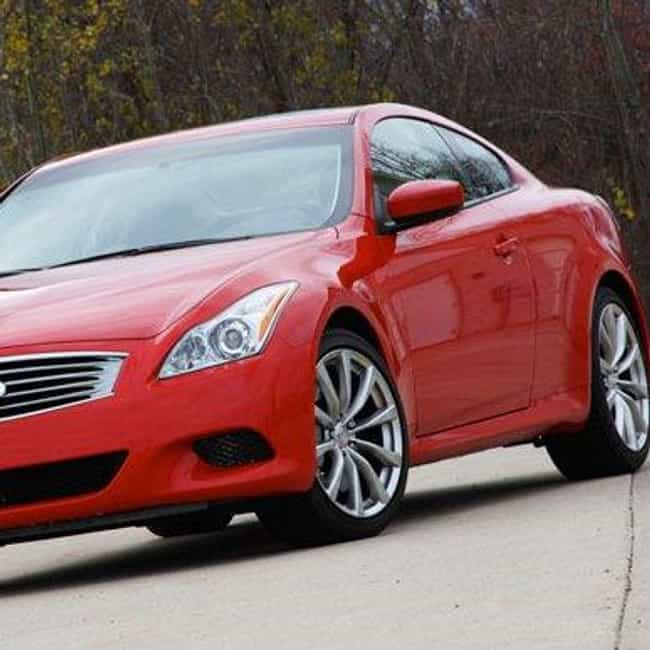 2009 Infiniti G37 Coupe is listed (or ranked) 3 on the list The Best Infiniti G37s of All Time