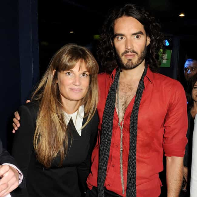 Jemima Khan is listed (or ranked) 2 on the list Russell Brand Loves and Hookups