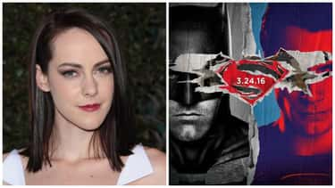 Jena Malone - Batman v Superma is listed (or ranked) 1 on the list 22 Famous Actors Who Were Entirely Cut Out Of Movies