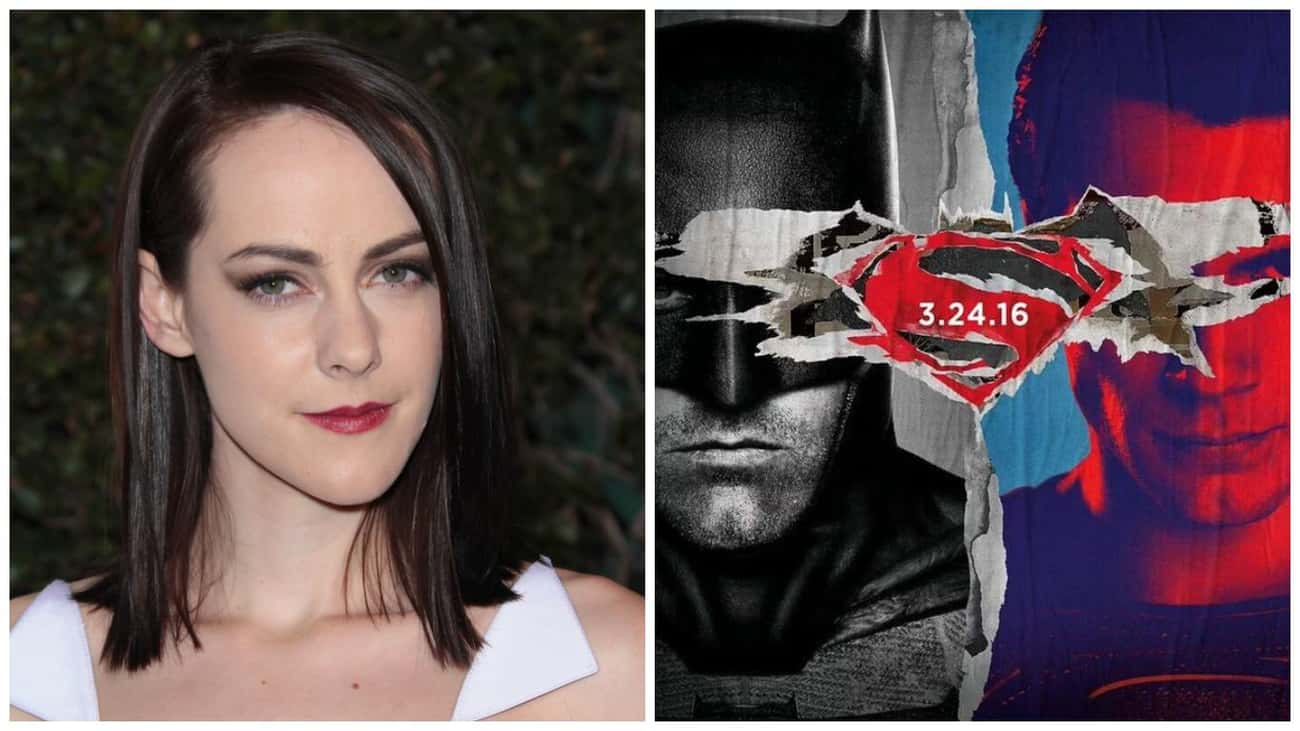 Jena Malone - Batman v Superma is listed (or ranked) 1 on the list 22 Famous Actors Who Were Cut from Famous Movies