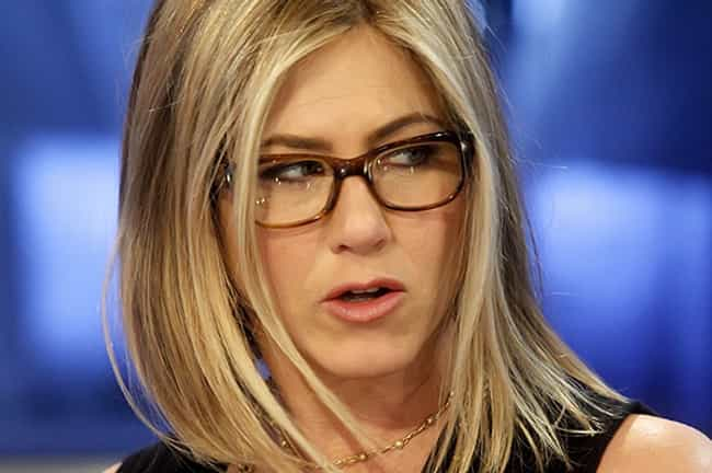 Jennifer Aniston is listed (or ranked) 6 on the list 35 Celebrities with Glasses