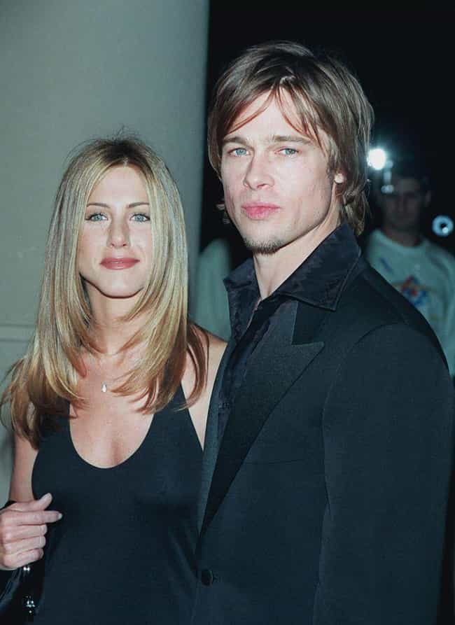 Jennifer Aniston is listed (or ranked) 2 on the list Brad Pitt's Loves & Hookups