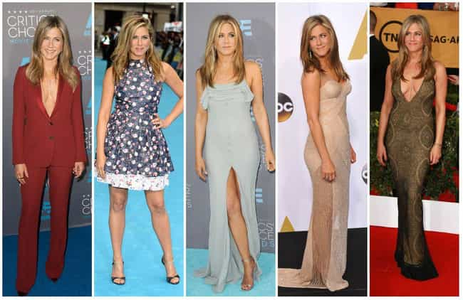 Jennifer Aniston is listed (or ranked) 4 on the list The Most Stylish Female Celebrities