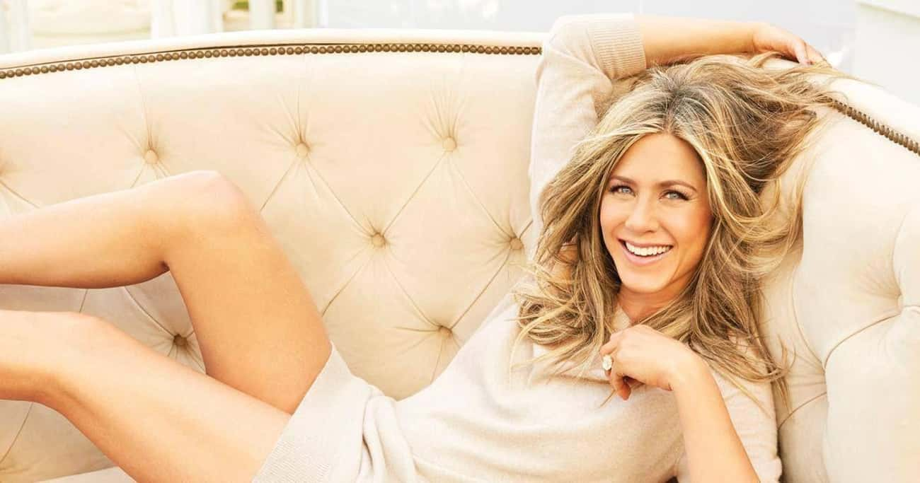 Jennifer Aniston is listed (or ranked) 3 on the list 30 Celebrities You Didn't Know Had Tattoos