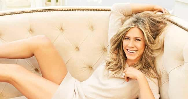 Jennifer Aniston is listed (or ranked) 3 on the list 20 Celebrities You Didn't Know Had Tattoos