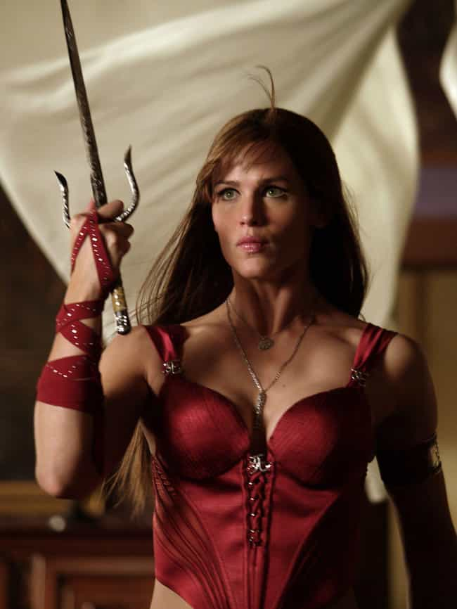 Jennifer Garner is listed (or ranked) 3 on the list Actors Who Regret Their Comic Book Movie Roles