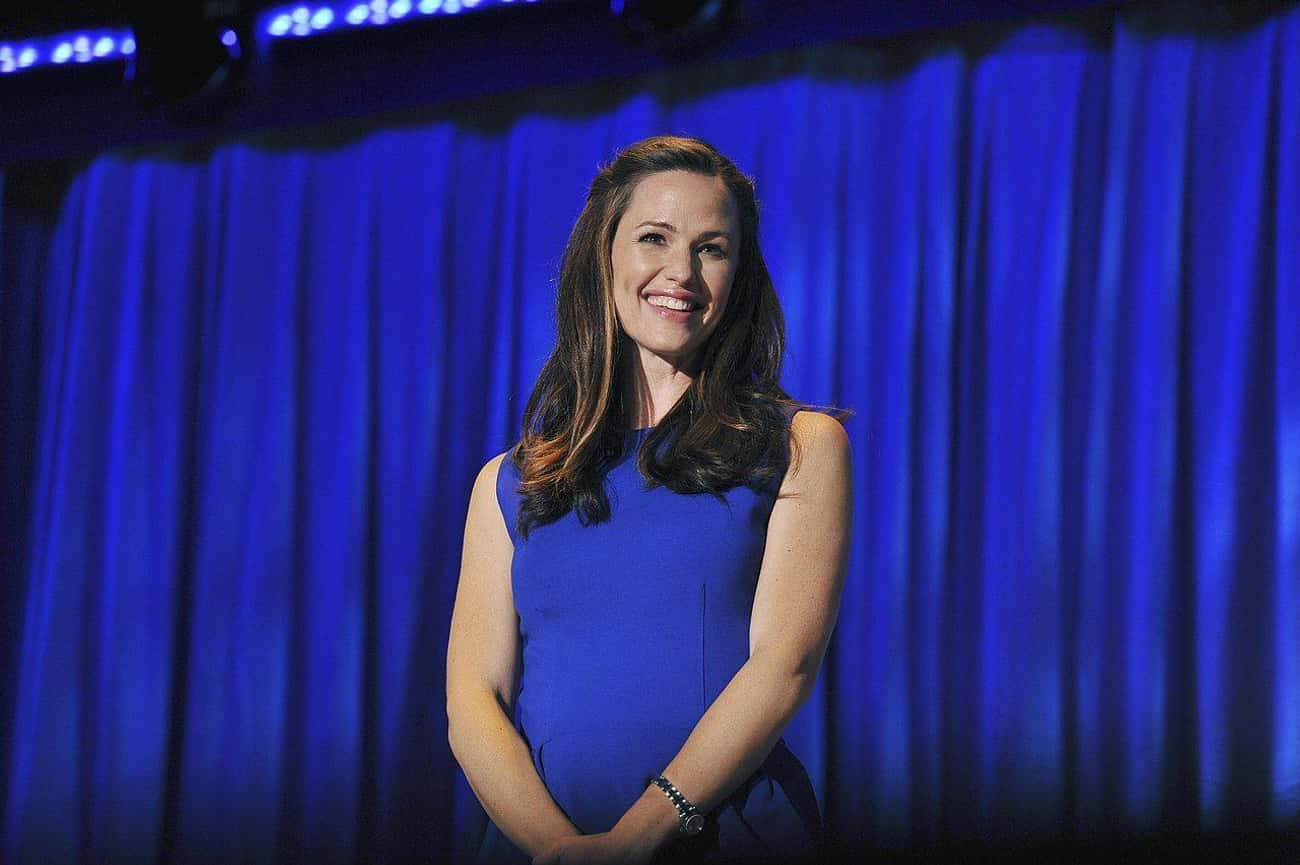 Jennifer Garner is listed (or ranked) 1 on the list 12 Real Pregnancies Written Into TV Shows
