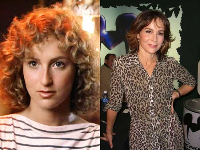 Jennifer Grey is listed (or ranked) 2 on the list Celebrity Nose Jobs: Before and After