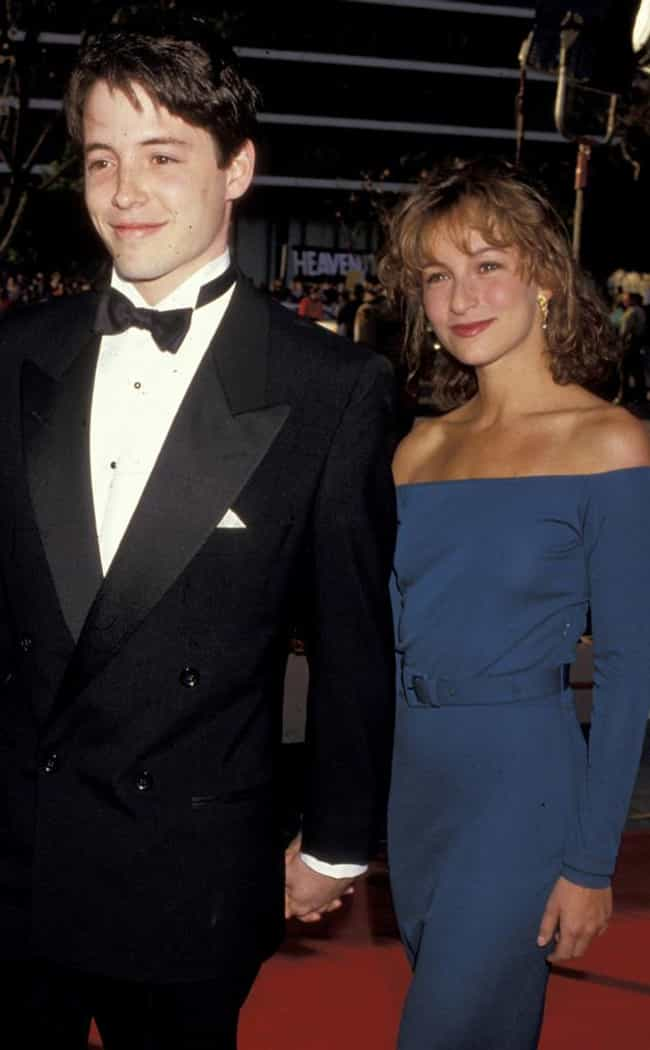 Jennifer Grey is listed (or ranked) 2 on the list Matthew Broderick's Loves & Hookups